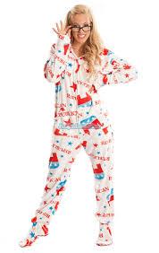 footie pajamas halloween costumes republican pajamas hd hooded footed pajamas pajamas footie pjs