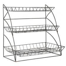 étagère cuisine à poser etagere a poser rangement cuisine metal grillage deco cagne
