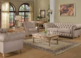 elegant casual cressida upholstered sofa button tufted rolled