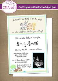 looney tunes baby shower baby looney tunes shower ultrasound invitations baby shower a