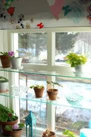 Kitchen Windows Design by Diy Glass Shelves In Front Of Kitchen Window Glass Shelves