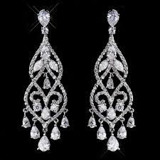 wedding earrings chandelier janessa wedding chandelier earrings enlarge 1 jewelry tomake