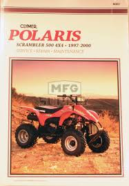 cm363 97 00 polaris p500l scrambler 4x4 repair u0026 maintenance
