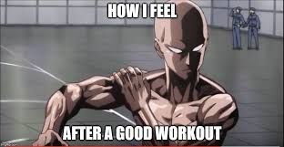 Dbz Gym Memes - either this or i feel like i can go super saiyan imgflip
