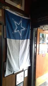 Dallas Cowboys Flags And Banners Dallas Cowboys Bus Stop