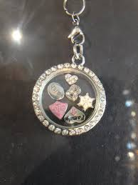 baptism necklace magnetic floating charm locket for baptisms charming lds gifts