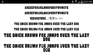 halloween fonts for flipfont android apps on google play