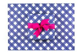 navy blue wrapping paper navy gingham wrapping paper sweet caroline designs