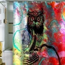Owl Drapes Shower Curtains Birds Foter