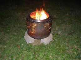 Making Fire Pit From Washer Tub - stylish making a fire pit from washing machine drum anyone made