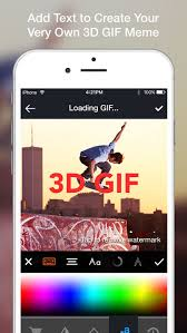 How To Create A Meme On Iphone - 3d gif video gif maker to convert gif to video to post gifs for