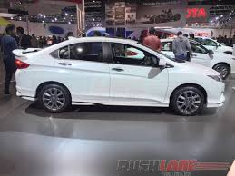 new honda city car price in india explore honda city sport kit features price in india auto expo 2016