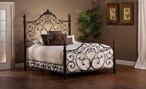 bedroom cool antique white iron metal frame bed strong iron tube