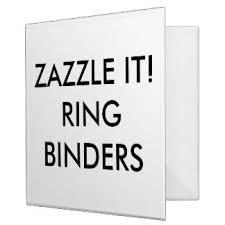 template custom binders zazzle