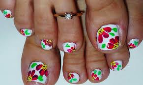 nail toes designs choice image nail art designs