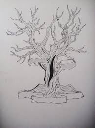 dead tree tattoo commission by clairvoyantfae on deviantart