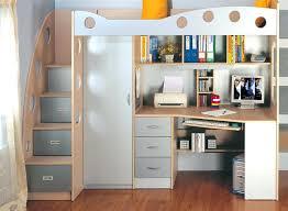 lit bureau armoire lit combine bureau combinac lit enfant bleu et blanc avec bureau