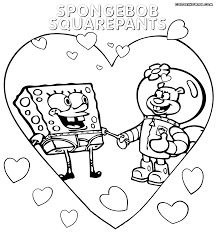 sponge bob coloring pages coloring pages to download and print