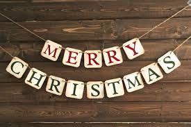 merry christmas banner christmas banner mini merry christmas decoration or photo