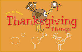 how to draw thanksgiving things mimi and the grands