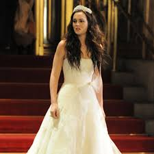 blair wedding dress the 24 most unforgettable wedding dresses in television history