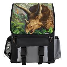 dinosaur bags and dino storage backpacks lunch bags saddlebags