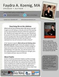One Sheet Template Speaker Bio One Sheet Template Keynote Templates One Pager