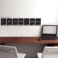 Chalkboard Home Decor by Wall Decorations For Office Aliexpress Buy Cooperate Teamwork Wall