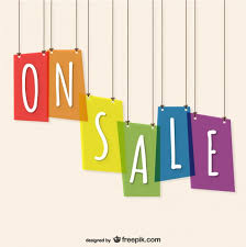 on sale template free vector 123freevectors