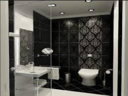 desain kamar mandi warna hitam putih contoh desain keramik kamar mandi hitam putih yang cantik tour