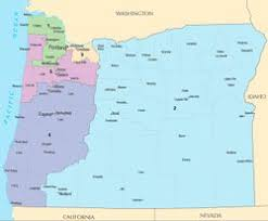 political map of oregon united states congressional delegations from oregon ballotpedia