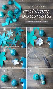 diy paper ornaments lia griffith