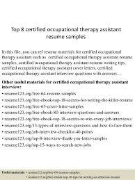 sample occupational therapist resume director of ot rehab resume