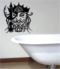 stunning neptune tribal wall art sticker vinyl bedroom bathroom stunning neptune tribal wall art sticker vinyl bedroom bathroom ebay