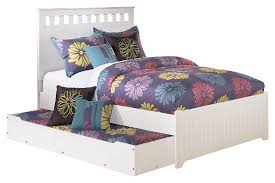 lulu full panel bed with trundle ashley furniture homestore