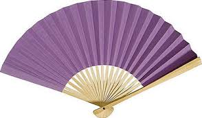 paper fans lilac paper fans by fantastica supplier of all types of fans