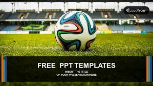 free football powerpoint template free sports powerpoint templates