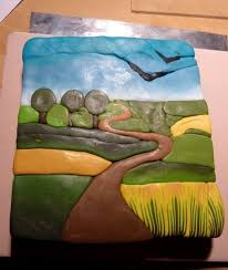 parole de pate s photo tutorial for landscape cane polymer clay how to