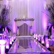 popular wedding decoration wedding mirror carpet t stage