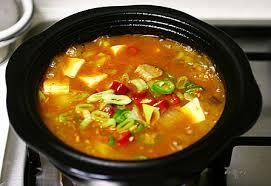 cuisine cor馥nne recette recette cuisine coréenne deunjang jjigae