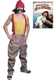 party city knoxville tn halloween costumes amazon com cheech and chong cheech deluxe costume men u0027s