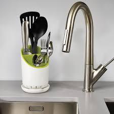 meuble egouttoir vaisselle égouttoir range couverts dock joseph joseph