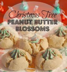 christmas tree peanut butter blossoms saving cent by cent