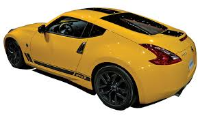 nissan 370z yellow edition brassy in the big apple