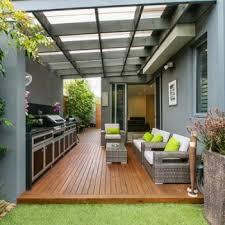 small backyard patio with diy aluminum covering patio design
