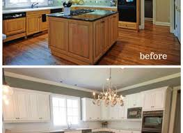 Before And After Pictures Of Painted Kitchen Cabinets Before And After Painted Kitchen Cabinets Kitchen Cabinets Idea