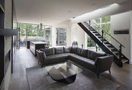 grey livingroom modern and sleek grey living room interior