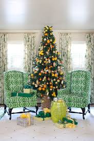 shocking flocked tree decorating ideas for living room