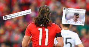 gareth bale hairstyle photos an important moment in football history gareth bale lets his hair