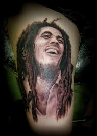 nice one more bob marley portrait tattoo golfian com